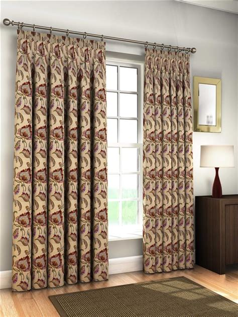 tapestry drapes lined natural tapestry jacquard curtains ties 8 sizes ebay