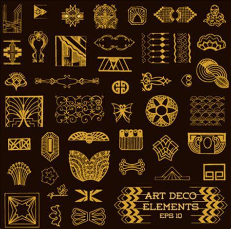 art deco design elements vector art deco design elements free vector download 217 419