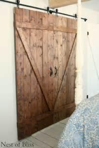 Make Your Own Sliding Barn Door Diy Sliding Doors Nest Of Bliss