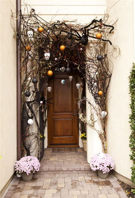 scary front door 40 cool front door decor ideas digsdigs