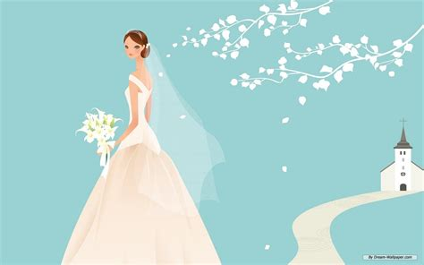 Animation Wedding by Animated Wedding Weddings Wallpaper 31771143 Fanpop