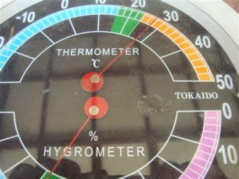 Termometer Dan Hygrometer benda kuno antik vintage unik jarang termometer dan