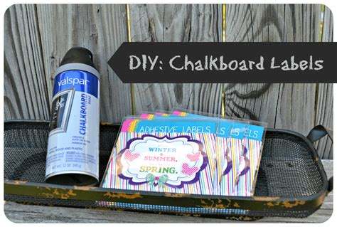 diy chalkboard stickers diy chalkboard labels