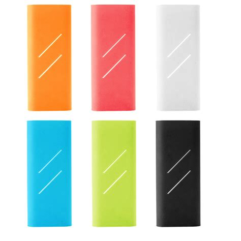 Silicon Cover For Xiaomi Power Bank 16000 Mah White Xobt07wh 16000 mah power bank reviews shopping 16000 mah