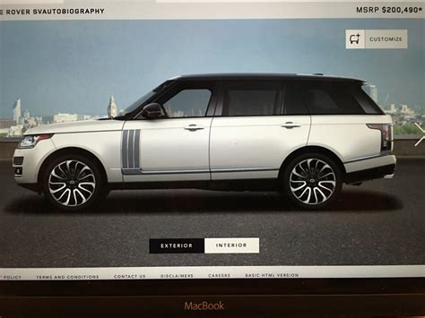 land rover diesel canada land rover range rover diesel for sale in canada autos post