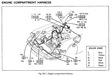 280zx wiring harness wiring diagram with description