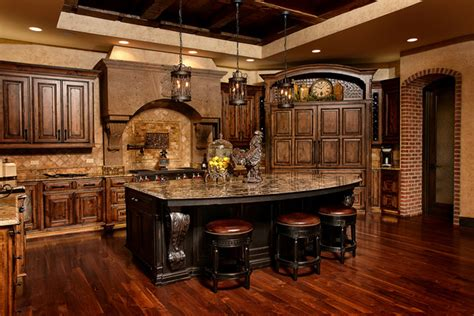 Handcrafted Cabinetry - world charm traditional kitchen