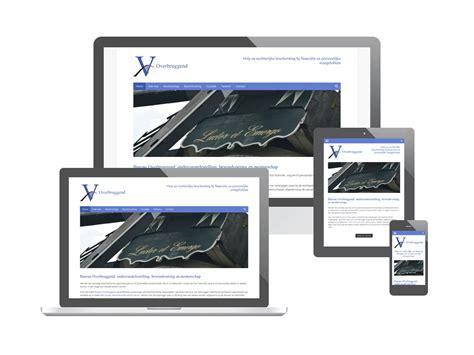website voor bureau overbruggend webproof webdesign