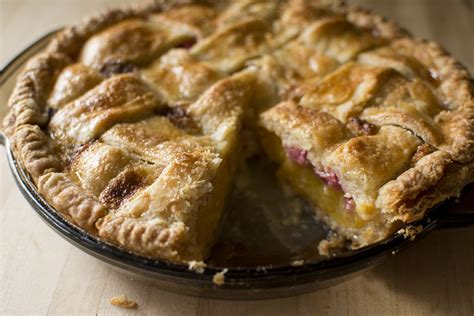 Link Apple Huckleberry Peace Pie by Sliced Pie With Rhubarb Madeleine Effect