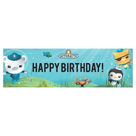 octonauts printable banner octonauts birthday banner target