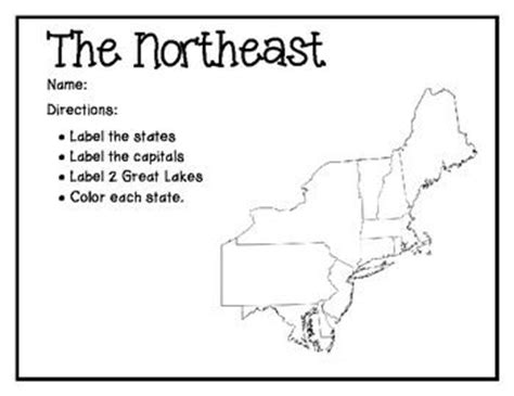 map of the northeast region states and capitals 17 best images about northeast states on