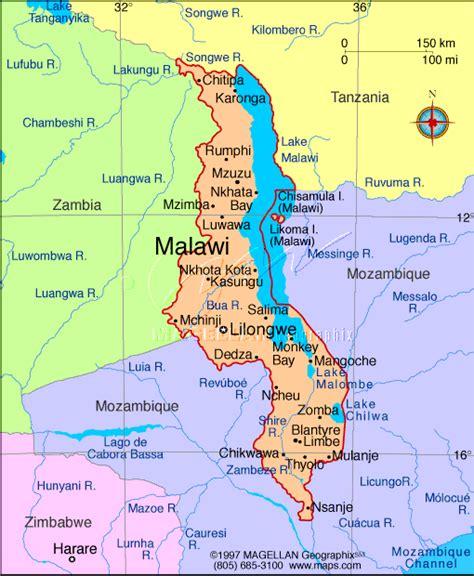 Mzuzu Map