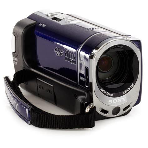 Memory Handycam Sony Handycam Sx44 Blue 4gb Flash Memory Camcorder With