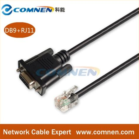 rs232 console cable rs232 db9 to rj11 communication cable console cable