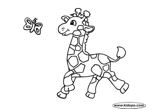cute giraffe coloring pages cute giraffe playing coloring page