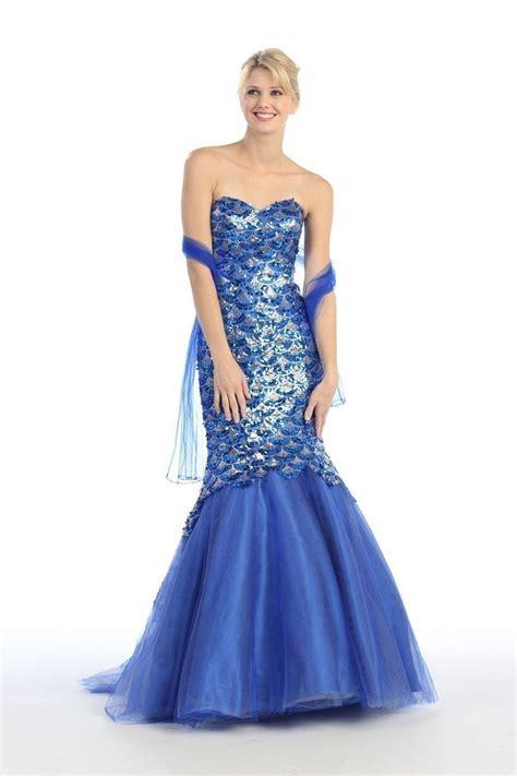 Blue Mermaid Dress mermaid dress blue scales costume ideas