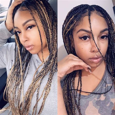 beyonce inspired knotless box braids college hair