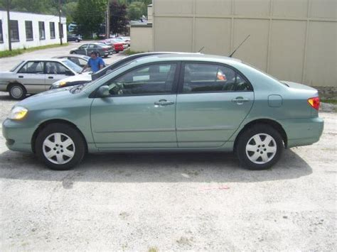 Value Of A 2005 Toyota Corolla 2005 Toyota Corolla Green 200 Interior And Exterior Images