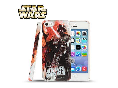 Casing Hp Iphone 5 5s Darth Vader Wars Custom Hardcase iphone 5 5s wars darth vader fight battle back