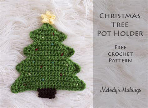 crochet pattern christmas tree free christmas tree pot holder pattern crochet knit