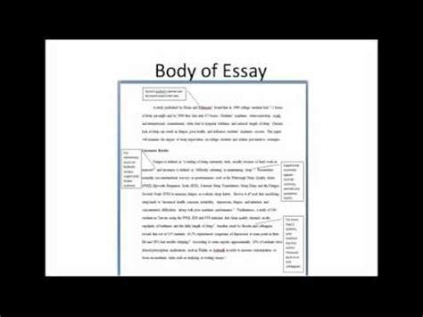 formatting  paper ama style youtube