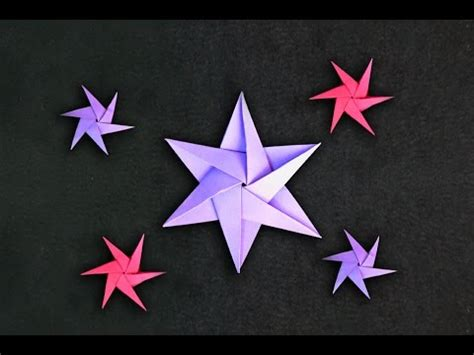 Origami Tips - origami of 6 tips