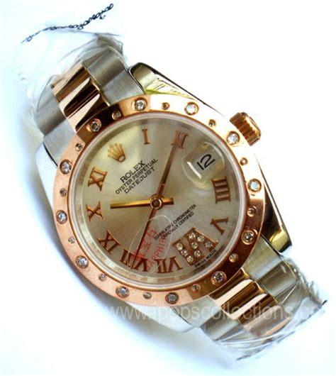 Jam Tangan Pria Wanita Gucci Pasir Embos Gold White butik jam tangan wanita gambar foto jam tangan