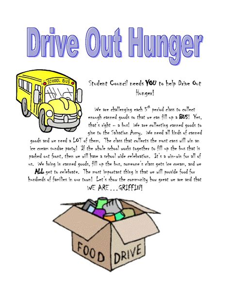 ghs drives out hunger griffin high school