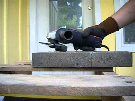 how to cut pavers for a brand new summer patio