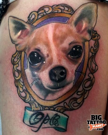 chihuahua tattoo chihuahua designs quoteko tattoos
