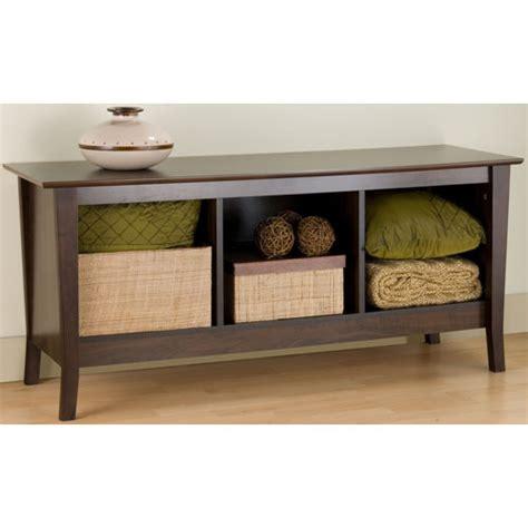 storage bench espresso organize it home office garage laundry bath organization products