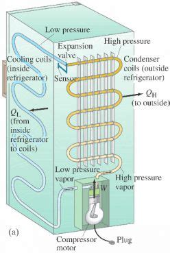 how refrigeration works diagram how refrigerator works diy home improvement tips ideas