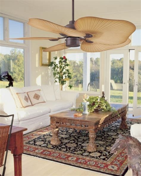 tropical living room with high ceiling ceiling fan in tahiti caribbean tropical indoor or outdoor ceiling fan