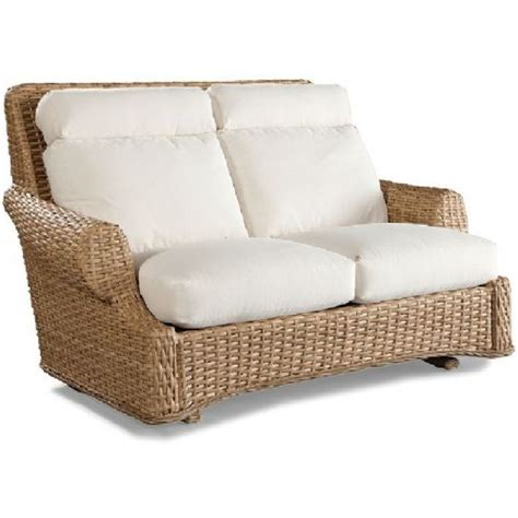 loveseat glider glider loveseat sofa outdoor wicker furniture glider video