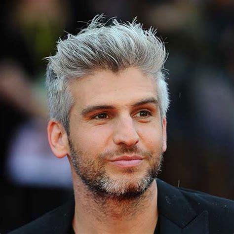mens hair styles to hide grey area frisuren und haare silber und graue haare f 252 r m 228 nner