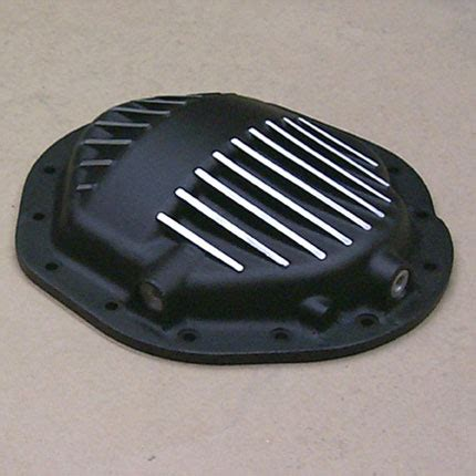 hummer differential hummer h2 sut aluminum rear differential cover black