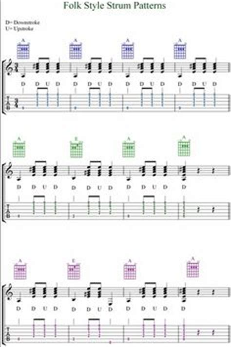 strumming pattern when you re gone common guitar strum patterns here are nine of the most