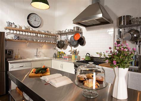 stainless steel kitchen island design decor photos