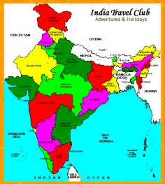 India Map States by Map Of India With States And Cities Www Imgarcade Com