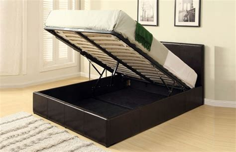 Harvard Faux Leather Ottoman Storage Bed Harvard Bed Frame