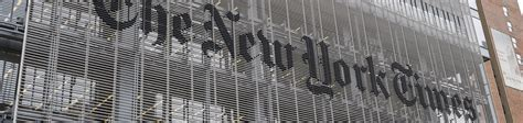 New York Times Office by The New York Times Newsroom Helps Power A Book Of Mormon