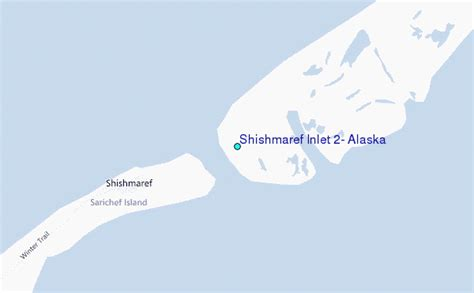 shishmaref alaska map shishmaref inlet 2 alaska tide station location guide