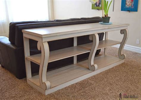 Belt Table White white featuring tool belt scroll legged