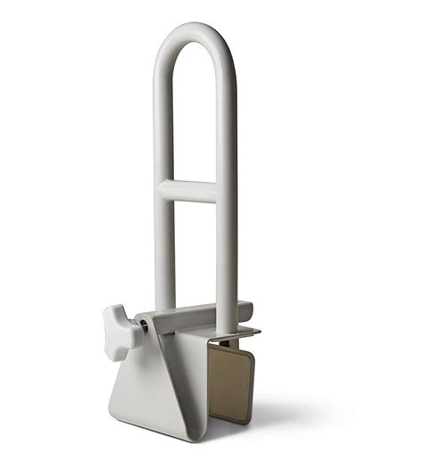 bathtub handles bathtub saftey bar locks to side of tub bath handle grab mount support assist ebay