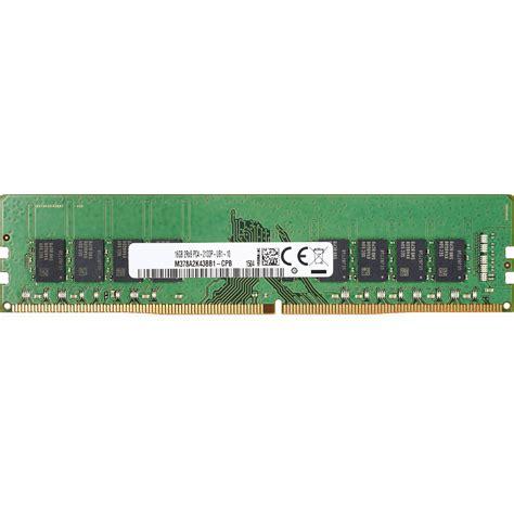 Memory Hp V 16gb hp 16gb ddr4 2133 mhz so dimm memory module t0h91at b h photo