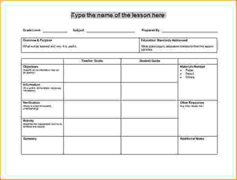 4 free lesson plan templates teknoswitch