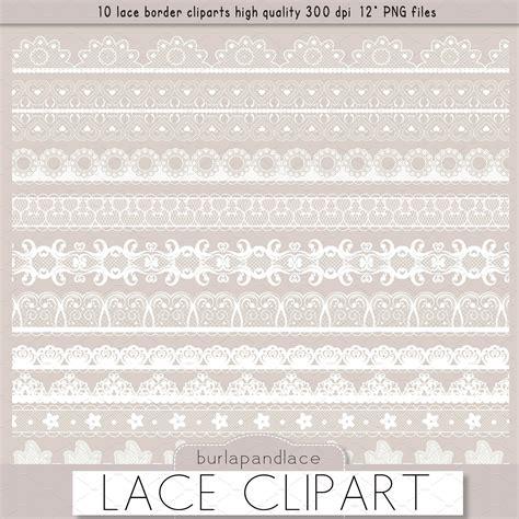 lace border clip clipart white lace borders illustrations creative market