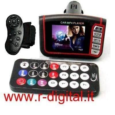 autoradio con telecomando al volante trasmettitore radio mp4 auto lcd telecomando al volante sd