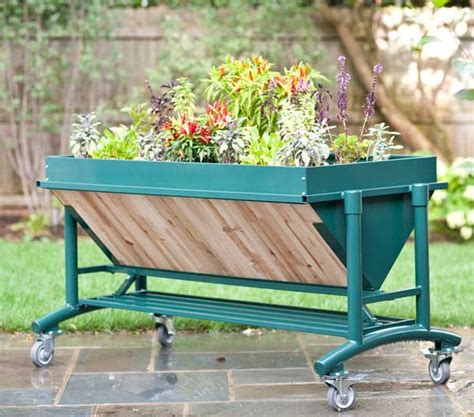 Tomato Planters On Wheels by Lgarden Elevated Garden On Wheels