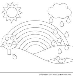 Coloring Pages For Kids Rainbow Coloring Pages Rainbow Coloring Pages For